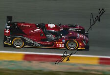 Kraihamer, Imperatori Hand Signed Rebellion Racing 12x8 Photo Le Mans 2016 5.