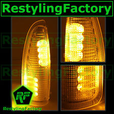 F250+F350+F450+F550 Super Duty 03-07 Side Mirror Light AMBER LED+AMBER LENS FORD