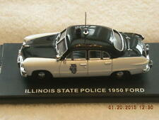 FRD102 First Response 1950 Ford Illinois State Police Car New In Box