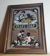 Pears Soap mirror picture - retro - collectable