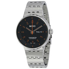 Mido Chronometer Automatic Black Dial Mens Watch M8340.4.18.19