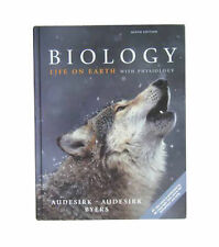 Biology Life on Earth with Physiology by Audesirk Byers 9th Edition NEW