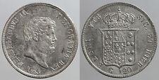 pci0032) Napoli Regno delle Due Sicilie Ferdinando II piastra 120 grana 1853