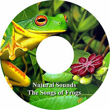 Natural Sounds Las Canciones de Ranas CD Relaxation Sueño Profundo