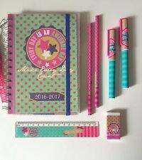 Taschenkalender 2016/2017 incl. Stifte-Set Kalender Schülerkalender Buch Tasche