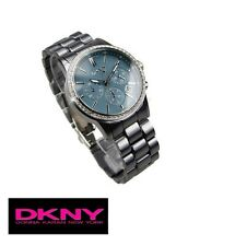 DKNY LADIE'S CRYSTALS SEXY GREY CHRONOGRAPH WATCH NY8325