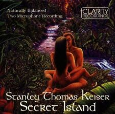 Stanley Thomas Keiser - Secret Island CD SEALED NEW ORIGINAL ISSUE jazz fusion