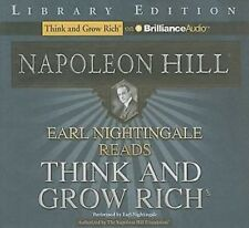 EARL NIGHTINGALE reads THINK AND GROW RICH Napoleon Hill AUDIOBOOK CDs audio NEW