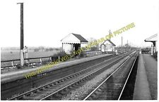 Marchington Railway Station Photo. Sudbury - Uttoxeter. North Staffordshire (2)
