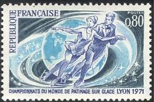 France 1971 Figure Skating/Ice Dancing/Sports/Games/Animation 1v (n43446)