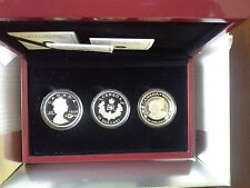 Canada 2012 $20 Three Fine Silver Coins Set- The Queen's Diamond Jubilee