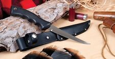 RADA - R210 SPORTSMAN KNIFE W/ LEATHER SCABBARD MADE IN USA  TACKLE BOX SPECIAL
