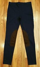 Ralph Lauren Jodhpur Faux Suede Patch Equestrian Legging Riding Pants Size Large