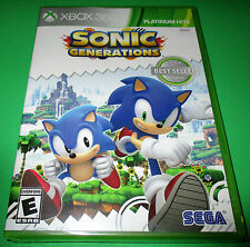 Sonic Generations Xbox 360 *Factory Sealed!   *Free Shipping!