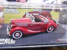 OPEL Super6 Super 6 Cabriolet 1937 / 1938 red rot Oldti  IXO Altaya S-Preis 1:43