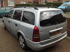VAUXHALL ASTRA ESTATE X REG BREAKING FOR SPARES 1.7 DTI SILVER Z82L COLOUR CODE