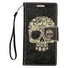 For Samsung Galaxy J7 Premium Leather Wallet Case Pouch Flip Phone Cover