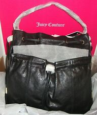 New Juicy Couture Dylan Leather Hobo Bag