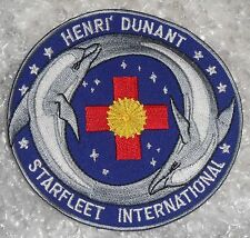 """Henri Dunant Starfleet International Patch - 4 1/4"""" x 4 1/4"""""""