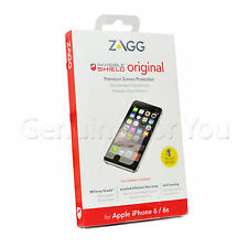 Original ZAGG Protector Invisible iPhone 6/6S Grado Militar Pantalla 4.7""