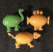 Lot of 3 Meteorbs HE-MAN MOTU Style Egg 80's Toys Collectable@3-head,lama