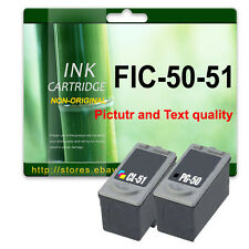 NON-OEM PG50 & CL51 2 Ink replace for Pixma MP180 MP450 MP460 MX300 MX310