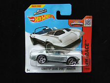 FAST & FURIOUS CORVETTE GRAND SPORT ROADSTER HOT WHEELS HW RACE MINT ON CARD MIB
