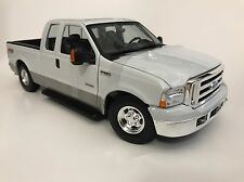 2005 Ford F-350 F350Lariat  FX4 Super Duty Power Stroke White Blank Ed 1/18 Rare