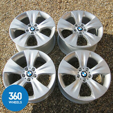 "GENUINE BMW X5 19"" E70 213 STAR 5 SPOKE ALLOY WHEELS M SPORT SE WINTER"