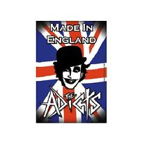 THE ADICTS Music Sticker FLAG