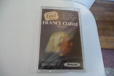 EDITION LISZT FRANCE CLIDAT K7 AUDIO TAPE NEUF . VOL .1. JEAN CLAUDE CASADESUS.