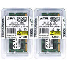 4GB KIT 2 x 2GB HP Compaq Business nc4400 nc6400 nc8430 nx6315 Ram Memory