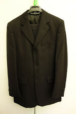 Celio Formal Coat Size 46 and Pants Black W 30 L 30