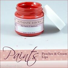Reborn Supplies: Heat Set Paint 1 oz Premixed Peaches & Cream Lips