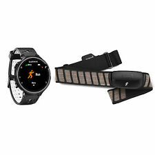 Garmin Forerunner 230 Heart Rate GPS Running Watch Activity Tracker Black Bundle