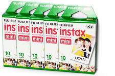 5 packs Fujifilm Fuji Instax Mini 50 photo Film 7s 8 25 50s 70 90 Polaroid 300