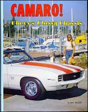 Best Camaro History Book with over 50 pgs per year 1967 1968 1969 RS SS Z28