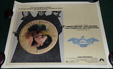 THREE DAYS OF THE CONDOR 1975 ORIGINAL ROLLED HALF SHEET MOVIE POSTER REDFORD