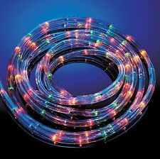 25m Metre Multi Coloured Rope Light Outdoor Indoor Party Lights Christmas Xmas