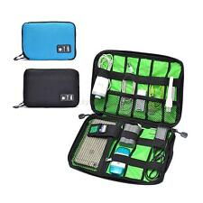 Waterproof Travel Electronic Accessories Cable USB Organizer Storage Bag Pouch