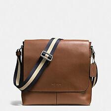 Coach Men's Bag Coach F72362 Charles Messenger in Sport Calf Leather  Agsbeagle
