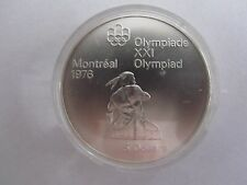 1976 Canada Montreal Olympics Silver Commemorative 5 Dollars Series III 1974