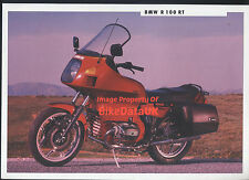 BMW R100RT (1991) Dealership Sales Brochure R100,R 100 RT,Boxer Twin