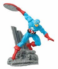 Marvel Comics figurine de collection Captain America 7 cm Collectible Diorama 01