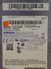 Samsung HD154UI / P/N: 61923-B761-A25PH / 2010.02 - 1,5 TB SATA II disco duro