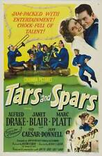 TARS AND SPARS Movie POSTER 27x40 Janet Blair Alfred Drake Marc Platt Jeff