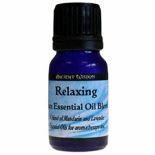 Relaxing Aromatherapy Essential Oil Blend 10ml Pure Mandarin & Lavender