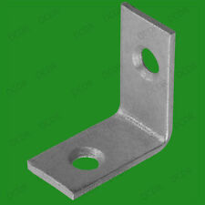"4x 25mm (1"") Corner Braces, L Shaped, Right Angle Support Fixing Repair Brackets"
