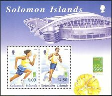 Solomons 2000 Olympics/Sports/Olympic Games/Running/Athletes/StampEx m/s n14484