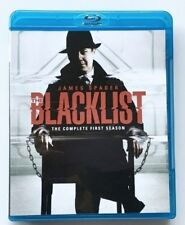 THE BLACKLIST FIRST SEASON BLU RAY FREE SHIPPING WORLD WIDE JAMES SPADER